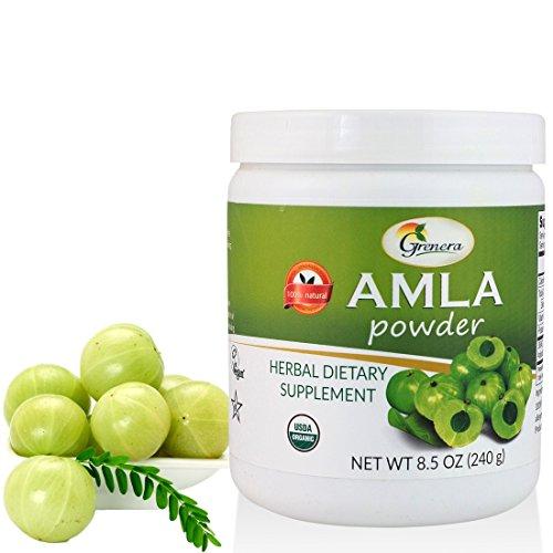 how to use amla powder