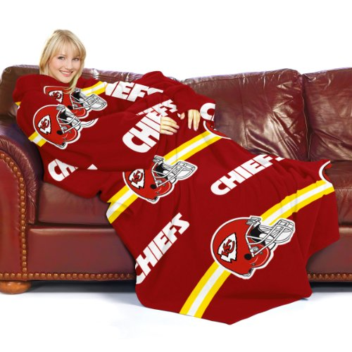 Kansas City Chiefs Snuggie Blanket Chiefs Blanket With Sleeves Chiefs
