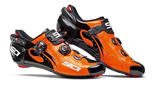 Sidi Draht Carbon Road Schuhe Orange / Schwarz