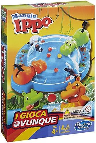 Hasbro Gaming - Tragabolas, Juego de Viaje (versión en Italiano ...