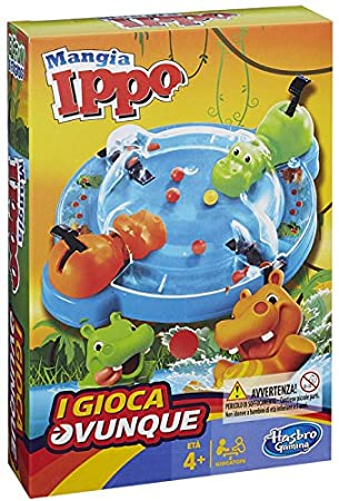 Hasbro Gaming Tragabolas Juego De Viaje Version En Italiano