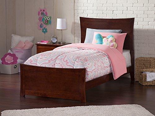 Atlantic Furniture AR9026034 Metro Twin Bed ()