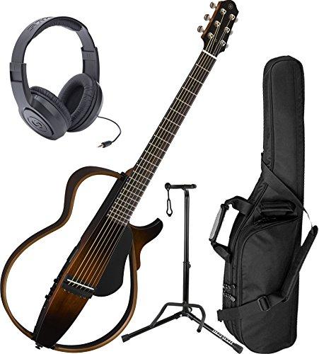 Yamaha SLG200S TBS Steel String Silent Guitar New 2015 Model (Silent Steel String Guitar)