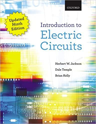 Introduction To Electric Circuits Jackson Herbert W Temple Dale Kelly Brian E 9780199020485 Amazon Com Books