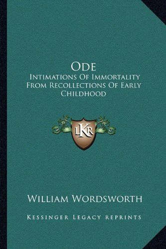 Ode: Intimations of Immortality Analysis