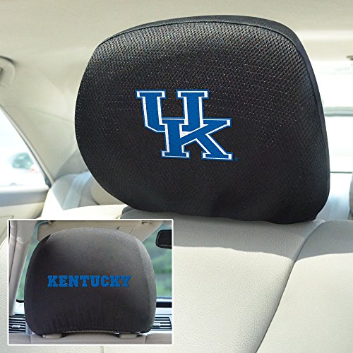 FANMATS  12575  NCAA University of Kentucky Wildcats Polyester Head Rest Cover