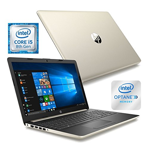 HP 17.3″ HD+ Laptop, Intel Quad Core i5-8250U Processor up to 3.4 GHz, 24GB Memory (16GB Intel Optane + 8GB RAM), 1TB Hard Drive, DVD-RW, 802.11ac, Bluetooth, HDMI, Backlit Keyboard