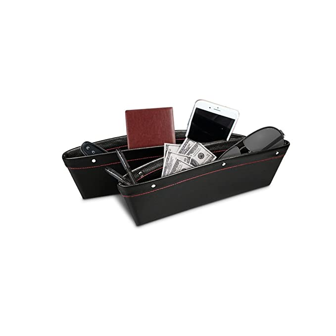 Amazon.com: follicomfy 4 piezas Perchero de asiento trasero ...
