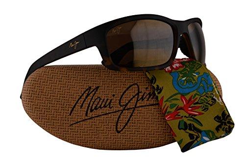 Maui Jim Kanaio Coast Sunglasses Matte Tortoise Ombre w/Polarized Bronze Lens - Maui Jim Stingray Tortoise