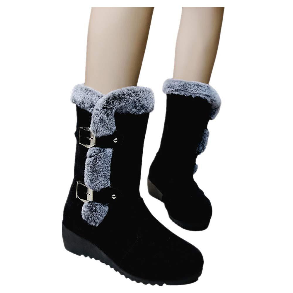 Kinrui Women Shoes DRESS レディース B07J2BZZZ6 US:6.0|ブラック ブラック US:6.0