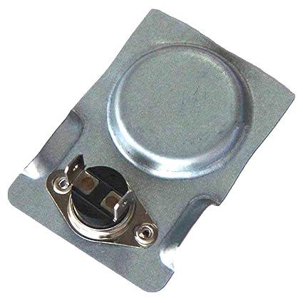 Hongso interruptor magnético de temperatura, termostato magnético, ideal para chimenea