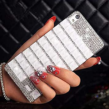 Amazon.com: 1 piece Sunjolly Rhinestone Case Diamond Bling ...