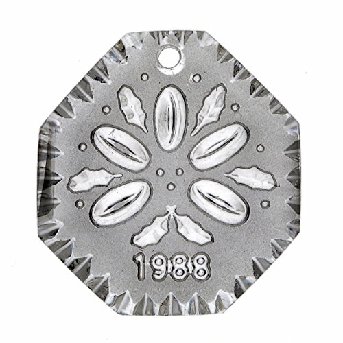 Waterford Crystal 12 Days of Christmas 1988 Annual Ornament - Five Golden (5 Five Golden Rings)