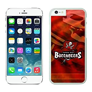 Iphone 6 Cover Case Tampa Bay Buccaneers iPhone 6 5.5 Inches Cases 14 White TPU Protective Phone Case