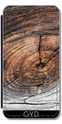 Leder Flip Case Tasche Hülle für Apple Iphone 7 / Iphone 8 - Altes Holz by Marina Kuchenbecker