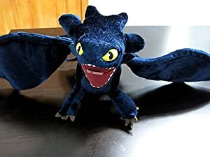 How to Train Your Dragon Deluxe Night Fury Toothless Poseable Figure Plush Doll