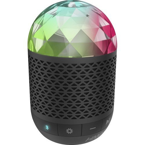 HMDX Daze Portable Bluetooth Speaker - Black