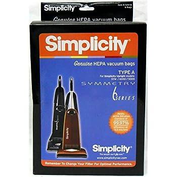 Amazon Com Simplicity Type W Synchrony Hepa Vacuum