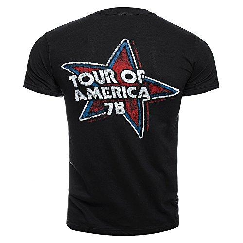 THE ROLLING STONES TOUR 78 VON AMERIKA, USA, 1978, OFFIZIELLES HERREN-T-SHIRT