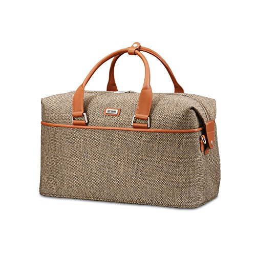 Hartmann Leather Duffel - Hartmann 105167-4652 Duffel Bag, Natural Tweed, One Size