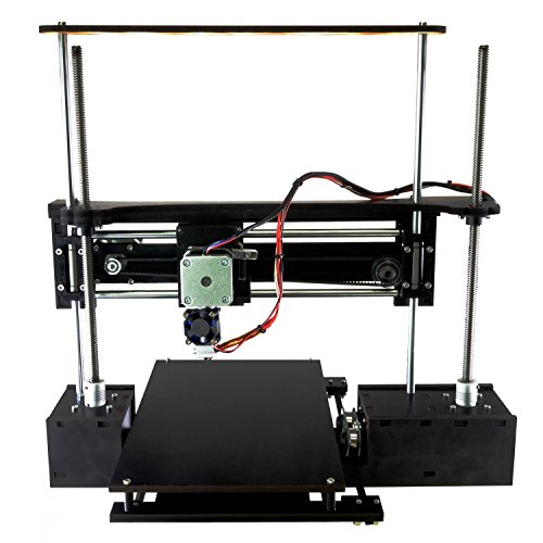 Q3D ThreeUp v3 w/ Heated Bed 3D Printer i3 DIY Kit 7