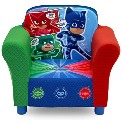 Hardwood Toddler Seat (Delta Children Upholstered Chair, PJ Masks)