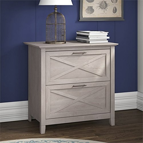 Scranton & Co Lateral File Cabinet in Washed Gray