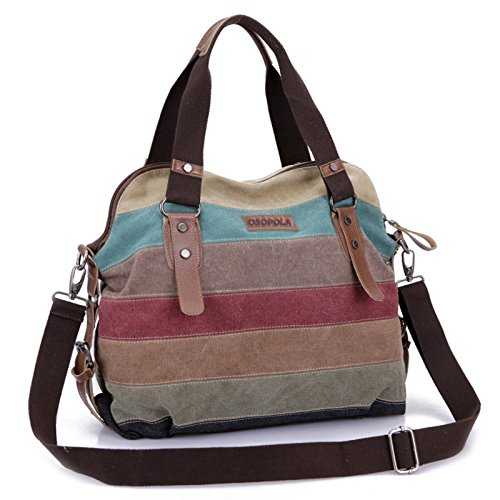 rolling garment bag canvas - 6