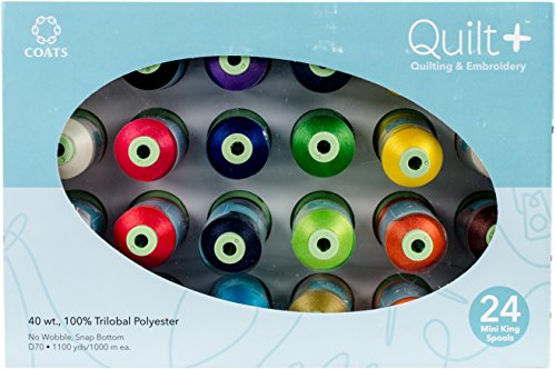 Coats & Machine Clark Quilting (Coats Quilting & Machine Embroidery Thread Assortment)