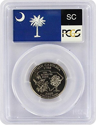 2000 South Carolina S Silver Proof Quarter PR-69 PCGS ()