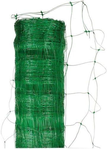 Filet /à plantes grimpantes de qualit/é sup/érieure 5 x 2 m avec grande largeur de maille et 10 clips pour plantes grimpantes r/écolte de concombres tomates et plantes grimpantes tuteur jardin et serre