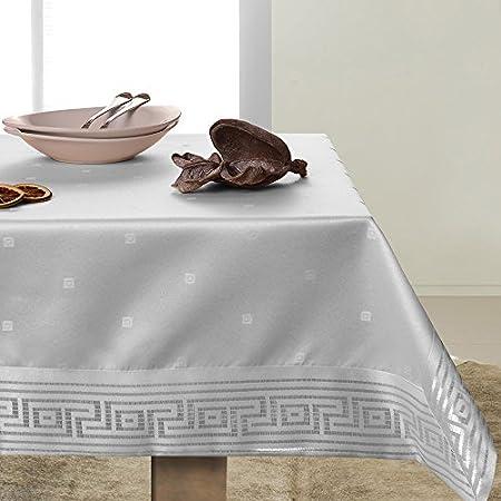 De colour blanco mantel de mesa de la mancha privacidad de vino de la vid de tu diseño de vid y de fácil cuidado prácticamente Ares
