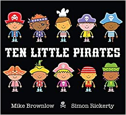 Image result for ten little pirates
