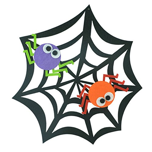 [Smartcoco Creative Funny Toy Non-Woven Felt Cloth Skull Spider Pumpkin Pendant Ornaments Halloween Window Party Yard Decoration Festival Supplies] (Marvel Dagger Costume)