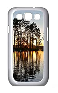 Samsung Galaxy S3 I9300 Cases & Covers - The Twilight Island Tree Custom PC Soft Case Cover Protector for Samsung Galaxy S3 I9300 - White