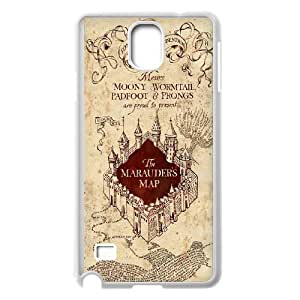 Harry potter print art phone Case Cove For Samsung Galaxy NOTE4 Case Cover XXM9948121