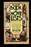 Signet Book of Movie Lists, Jeff Rovin, 0451089294