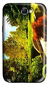 CaseandHome View Of Countryside PC Material Hard Case For Samsung Galaxy Note 2