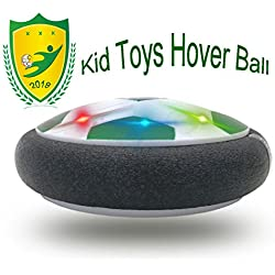 Happy Gift Kids Toys The Hover Football Powerful LED Light Family Activity 3-12 Old Girls Sport Children Toys 4-8 Year Old Boys Training(Style2 Green)