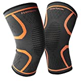 Knee Brace Support, [Newest] Etybetopstar Knee Compression Sleeve for Meniscus Tear, Arthritis, Running, Sports, Joint Pain Relief, Injury Recovery Fit for Men Women - 2 Pack