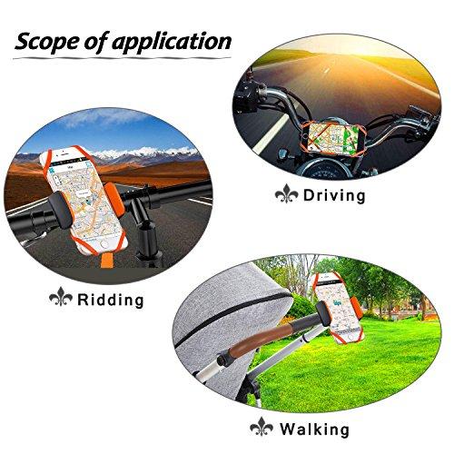 [해외]LXZDL 자전거 전화 마운트 자전거 홀더, 보편적 인 전화 자전거 랙 핸들 아이폰, 안 드 로이드 전화, 보트 GPS, 360 D에 대 한 요람 오토바이 홀더 요람/LXZDL Bike Phone Mount Bicycle Holder, Universal Phone Bicycle Rack Handlebar   Motorcyc...