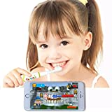 Grush Smart Electric Toothbrush Makes Brushing Fun for Kids with Interactive Brushing Games and Precise Tracking and Monitoring for Parents