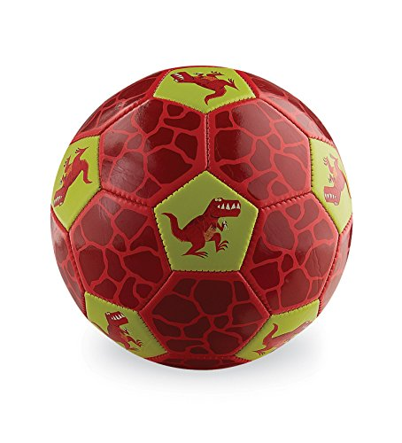 Crocodile Creek Dinosaurs Kids Soccer Ball Size 2 by Crocodile Creek