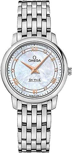 Omega DeVille Prestige Quartz 27.4mm Watch 424.10.27.60.55.001