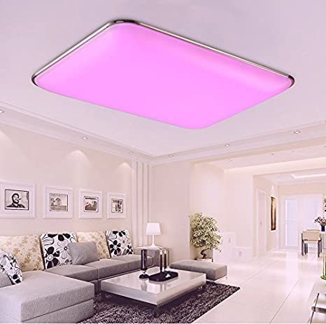 Stylehome® 6310-30W-Silver RGB 30 W Led Ceiling Light Kitchen Lights ...