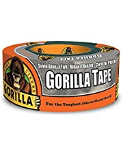 Gorilla Tape, Duct Tape, Utility Tape, Triple Layer Strength, Indoor and Outdoor, Weather Resistant Shell, 1.88 in x 12 yd, Silver, (Pack of 1) 6071202