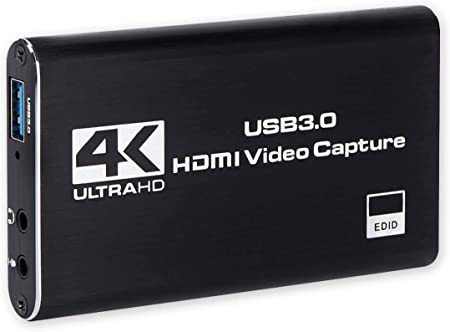 Live Broadcast Dedicated,HDCP 1080P Windows Linux YouTube OBS Twitch for PS3 PS4 Xbox Wii U Streaming and Recording Game Capture Card,USB 3.0 HD Video Capture Card Device with HDMI Loop-Out