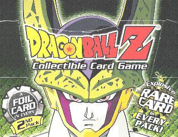 - Dragonball Z Score Trading Card Game Cell GAMES Saga Booster Pack 10 Cards