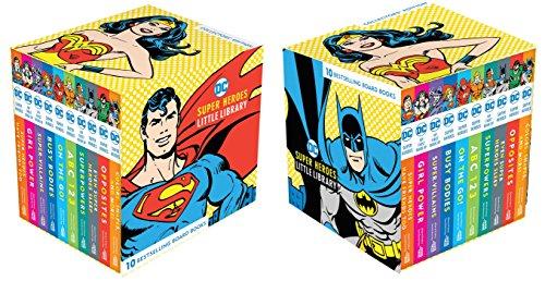 DC Super Heroes Little Library - Little Alphabet Books