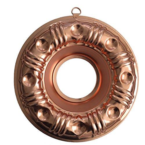 Copper Round Jello Mold - 4 Cups